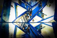 Rullende trapper spidser til