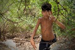 13 - Drengen, The Killing Fields, Cambodja